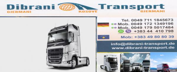 Dibrani-Transport nga Gjermani ,Holanda ,Belgjika dhe Danimarka për Kosvë