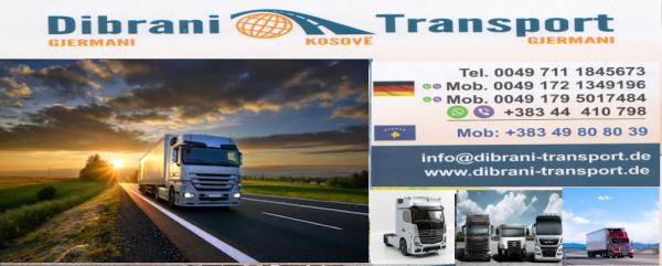Dibrani Trasport  për Gjermani